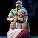 Paapa Essiedu as Hamlet and Mimi Ndiweni as Ophelia - Photo: Manuel Harlan