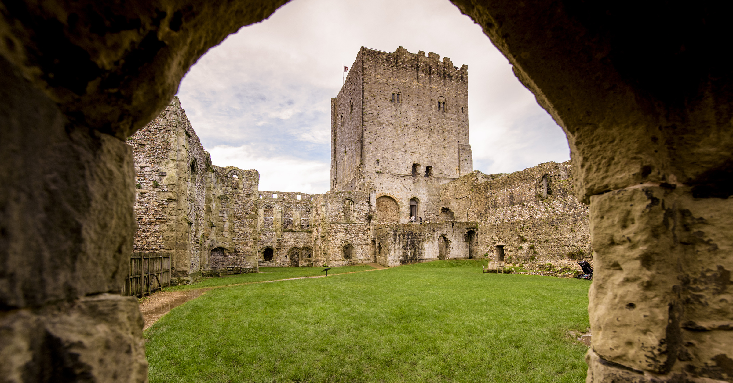 Portchester Castle - Photo: English Heritage