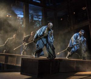 Cavin Cornwall as Caiaphas and Nathan Amzi as Annas - Photo: Johan Persson