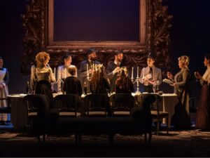 """""""Seder"""" The cast of Leopoldstadt - Photo: by Marc Brenner"""