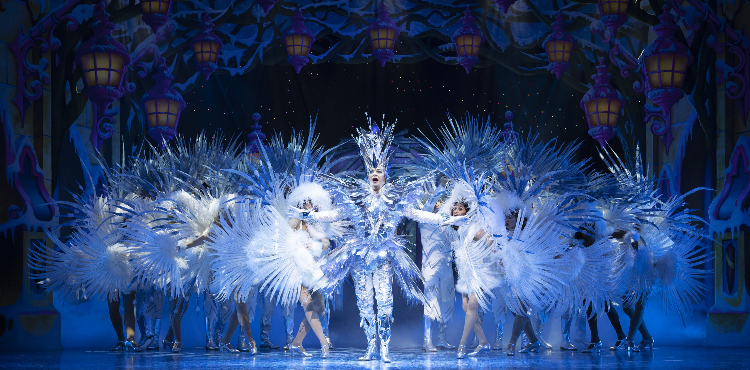 NEWS: Pantoland at the Palladium.  Julian Clary leads an all star cast in celebration of Panto
