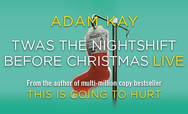 NEWS: Adam Kay's Christmas Show to open at the Palace Theatre 21st December 2020
