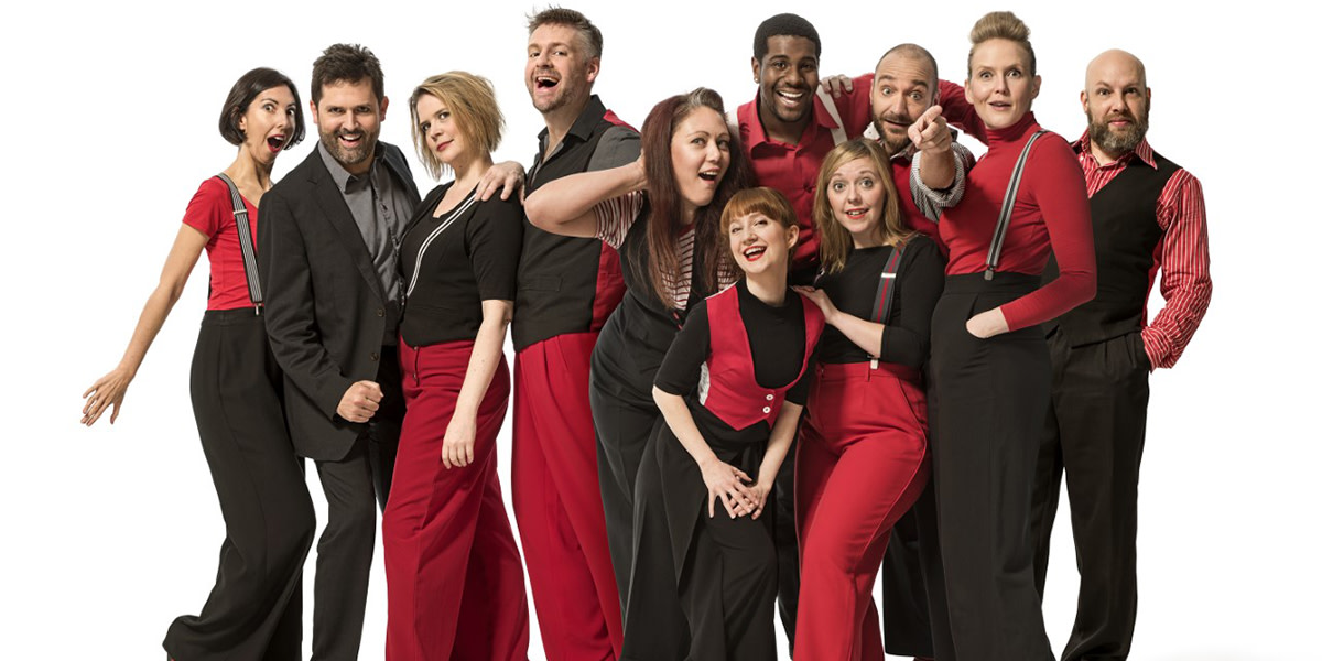 NEWS: Showstopper!  The Improvised Musical returns to the West End at the Garrick