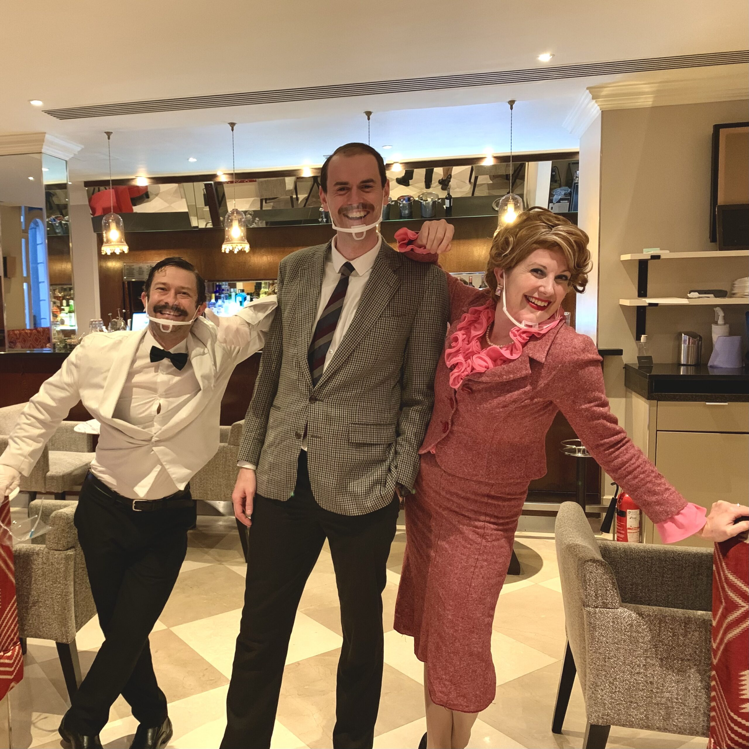 REVIEW: Faulty Towers, the Dining Experience, Torquay Suite Radisson Blu Hotel, Bloomsbury Street