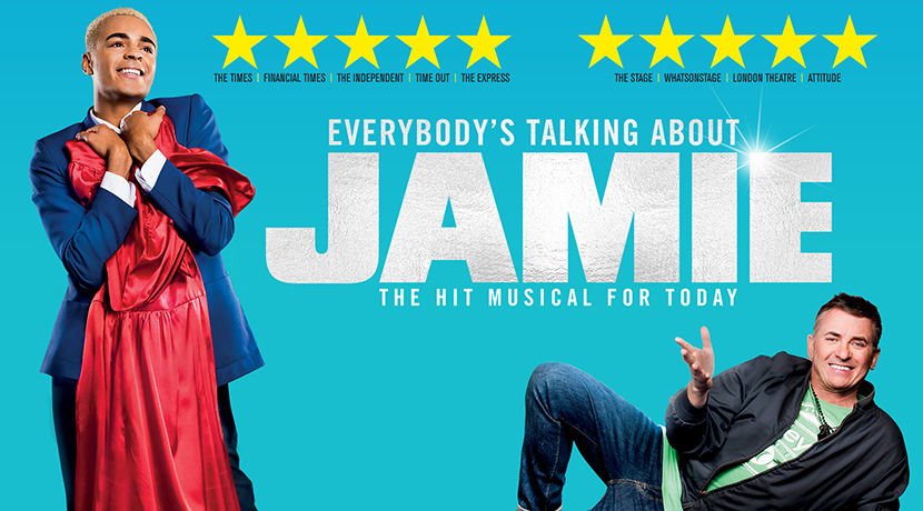Read more about the article NEWS:  Everybody's Talking about Jamie booking now for a 20th May return