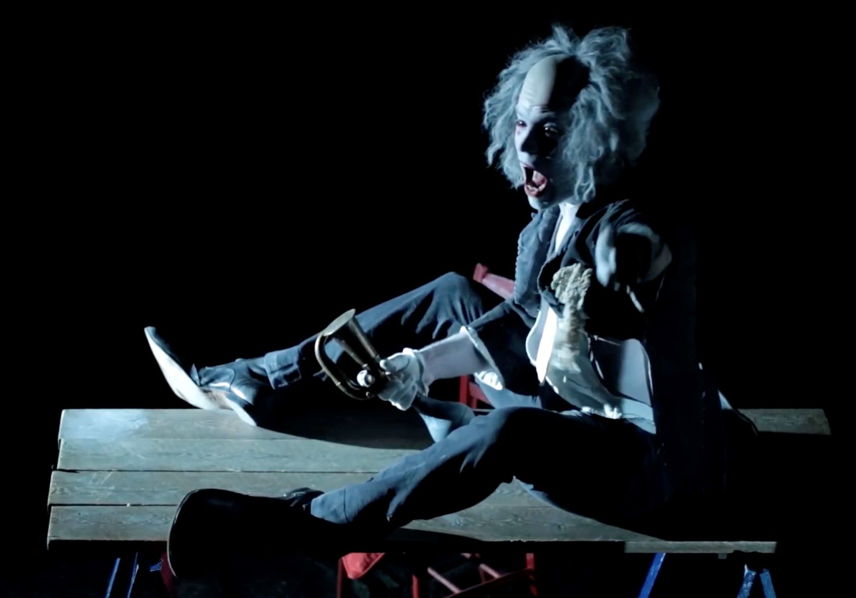 Read more about the article REVIEW: Scaramouche Jones or the Seven White Masks, Wilton's Music Hall (2021)