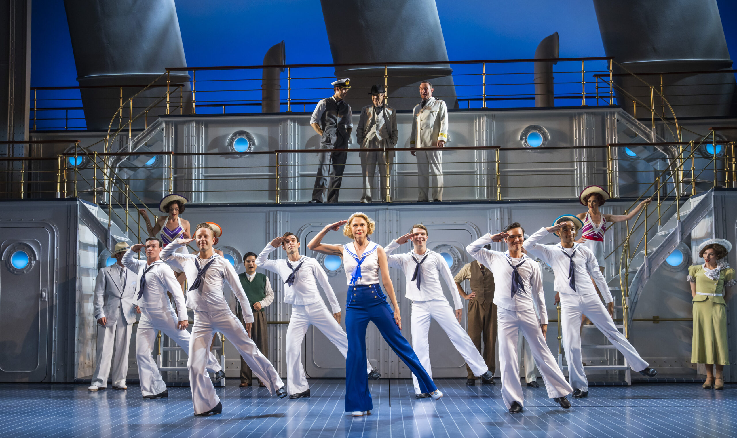 Read more about the article REVIEW: Anything Goes, Barbican Theatre (2021)