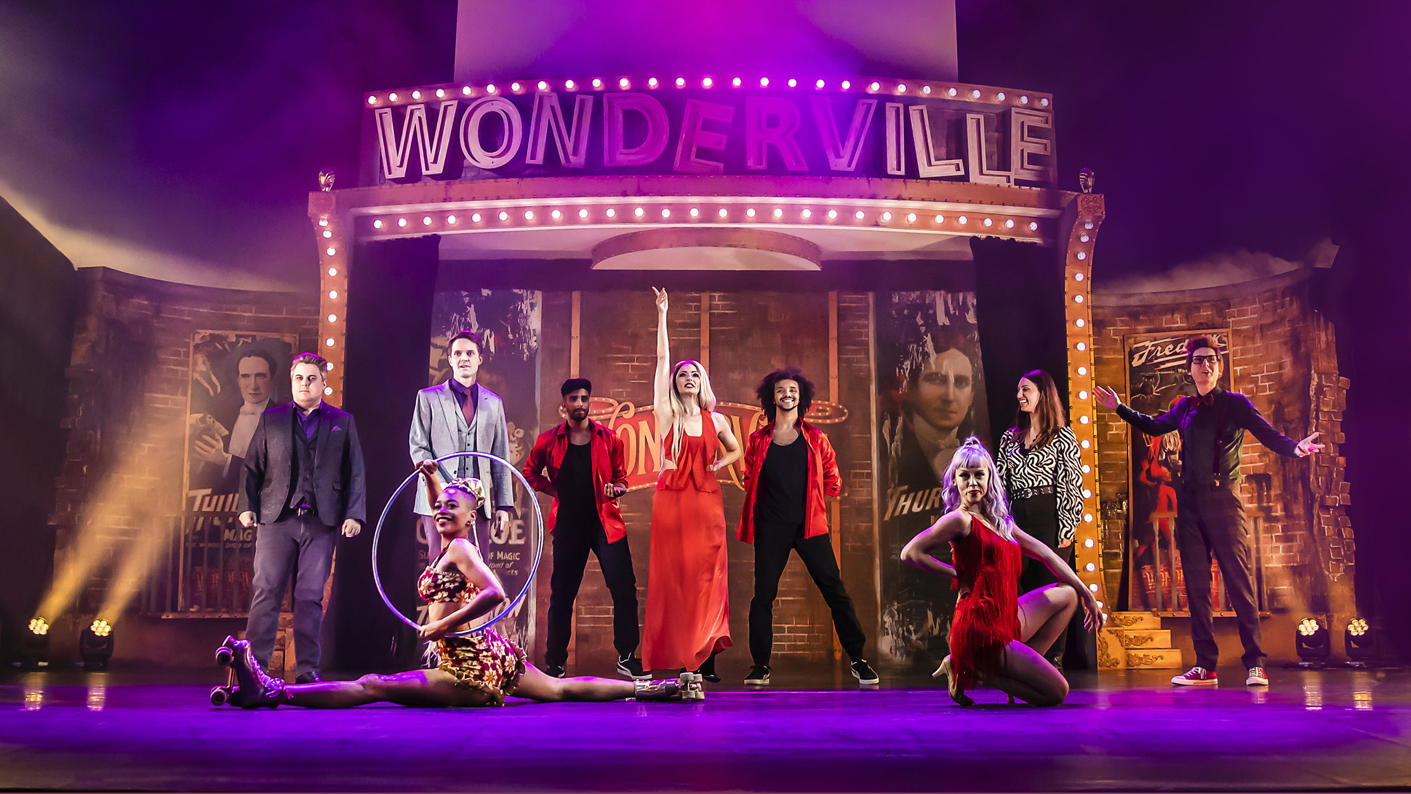 Read more about the article REVIEW: Wonderville,  Magic and Illusion at The Palace Theatre (2021)