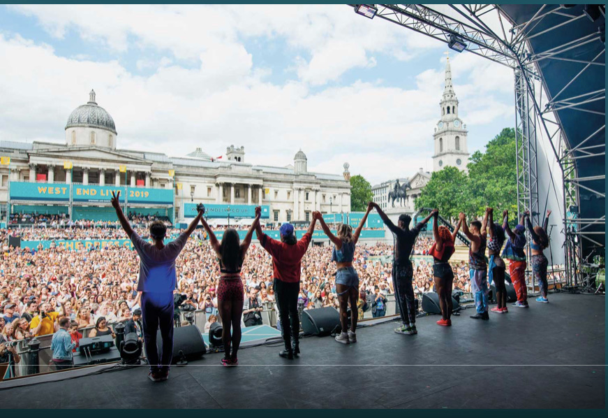 Read more about the article NEWS: West End Live last weekend Trafalgar Square, times and shows