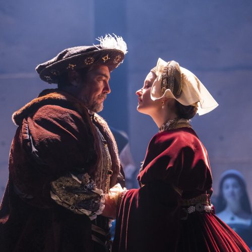 Nathaniel Parker as King Henry VIII and Rosanna Adams as Anne of Cleves  (Photo: Tristram Kenton)